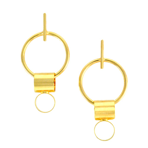 SE727 18k Gold Plated Earrings