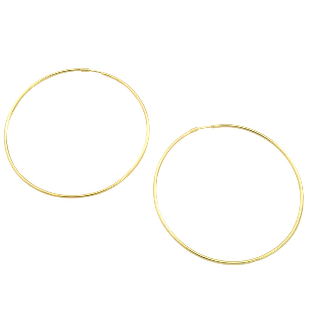 SE731MD 18k Gold Plated Hoops