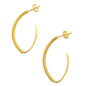 SE734SM 18k Gold Plated earrings