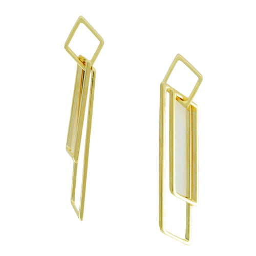 SE736 18k Gold Plated Earrings