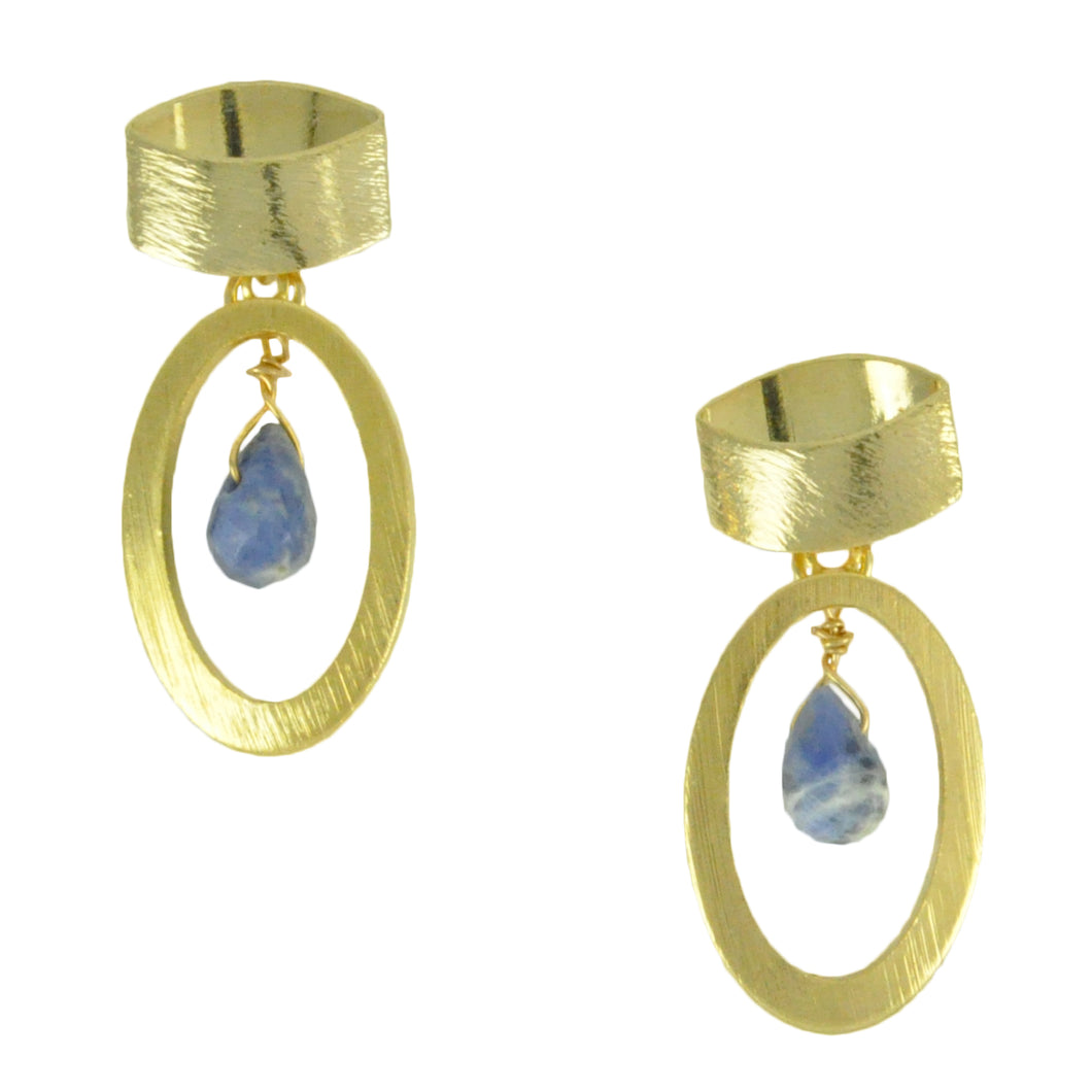 SE747 Earrings with Sodalite