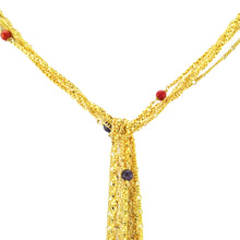 Load image into Gallery viewer, SN249MT 18k Gold Plated Necklace with Mixed Semiprecious Stones