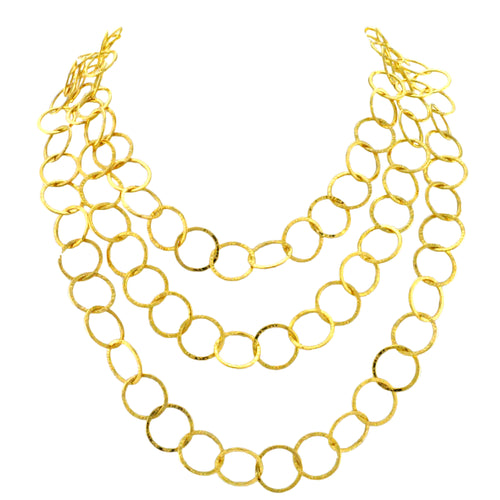 SN339A 18k Gold Plated Chain