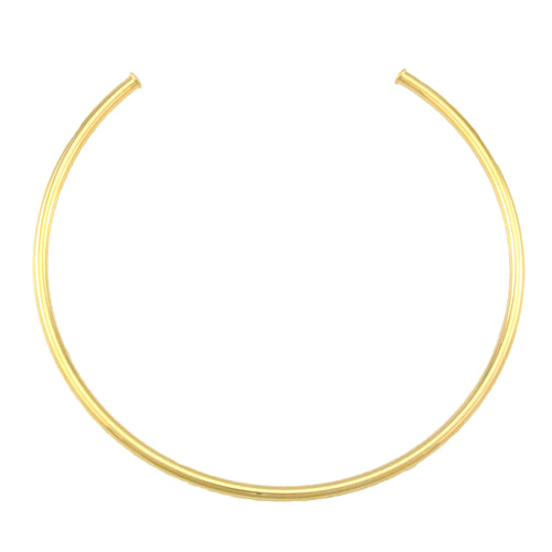 SN382A Gold Plated Polished Choker