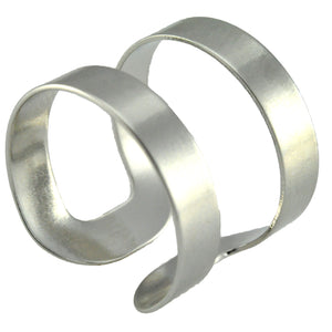SR096R Rhodium Plated Ring