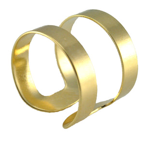 SR096 18k Gold Plated Ring