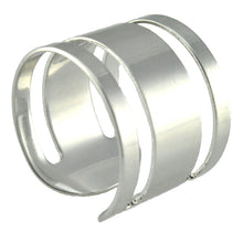 Load image into Gallery viewer, SR098R Rhodium Plated Ring