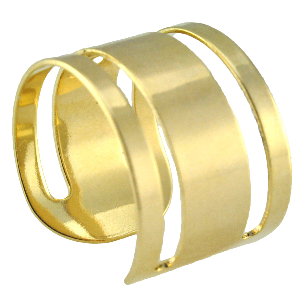 SR098 18k Gold Plated Ring