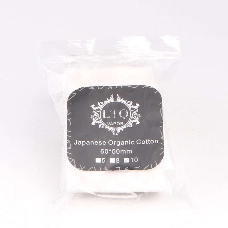 LTQ Vapor Japanese Organic Cotton - 8pcs/pack
