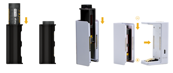 Aspire NX100 Box Mod 3 Colors