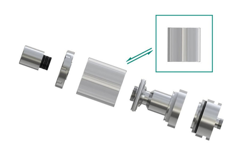 Eleaf iJust S Replacement Glass Tube - 4ml & 5pcs/pack