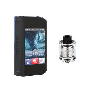 Teslacigs Touch 150W TC Mod with IJOY LIMITLESS SUB OHM Tank Atomizer - 2ml