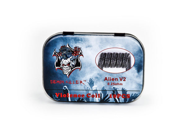 Demon Killer Alien V2 Coil 0.25ohm - 10pcs/pack