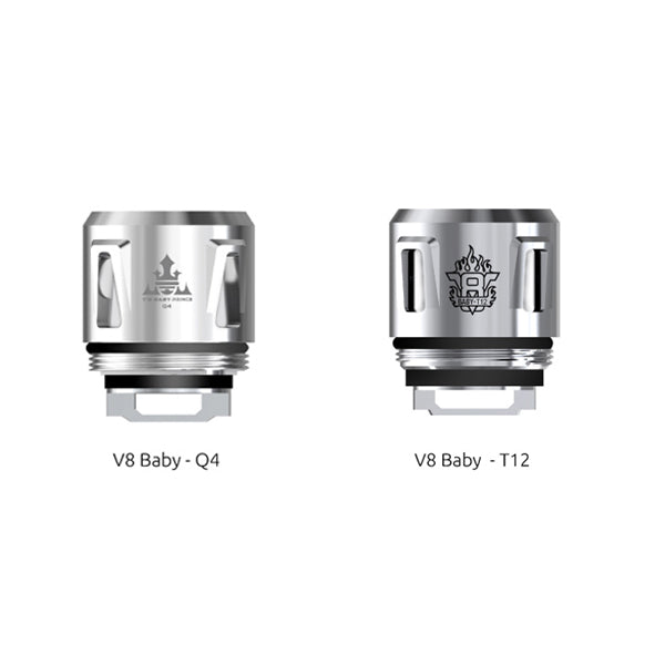 SMOK V8 Baby Replacement Coil For TFV12 Baby Prince/TFV8 Baby/TFV8 Big Baby - 5pcs/pack