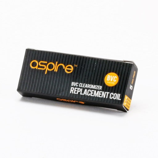 Aspire ET BVC Replacement Coil Head 1.6ohm/1.8ohm/2.1ohm - 5pcs/pack
