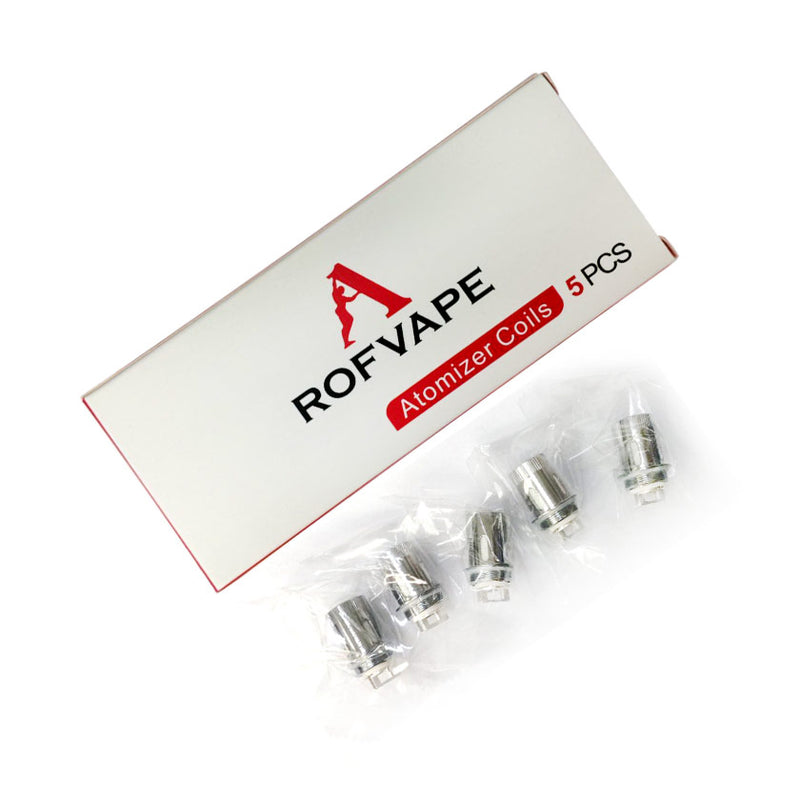 Rofvape Mist Replacement Coil 0.25ohm - 5Pcs/Pack