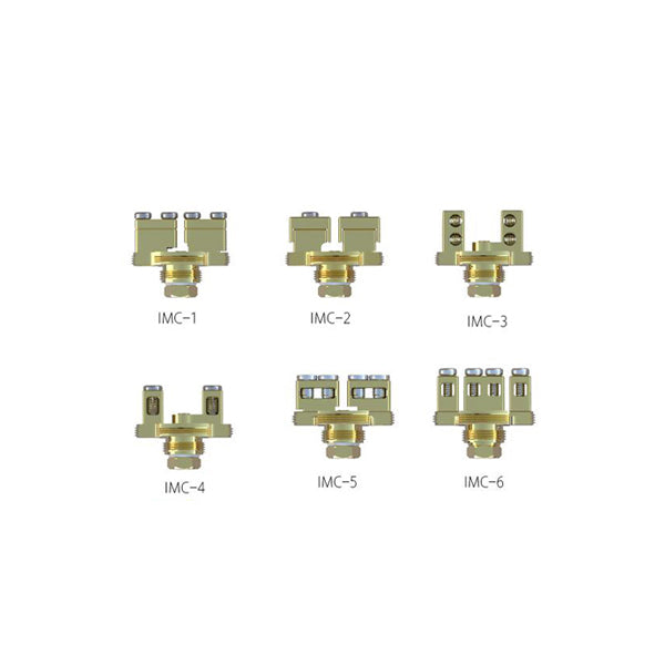 IJOY COMBO/LIMITLESS RDTA Gold-plated Building Deck IMC-1/2/3/4/5/6  - 1pcs/pack