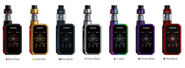 SMOK G-PRIV 2 230W Touch Screen Starter Kit With TFV8 X-Baby Tank -4ml