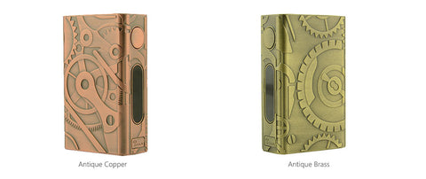 Teslacigs Nano 100W TC Steampunk Battery Mod - 4500mAh