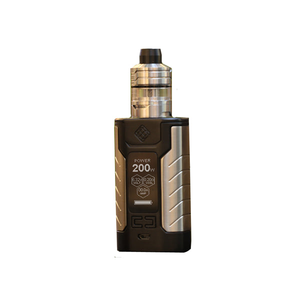 Wismec SINUOUS FJ 200 200W Kit with Divider Tank - 4600mAh & 4ml