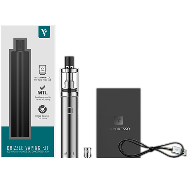 Vaporesso  Drizzle Vaping Starter Kit with Drizzle Tank- 1.8ml & 1000mAh