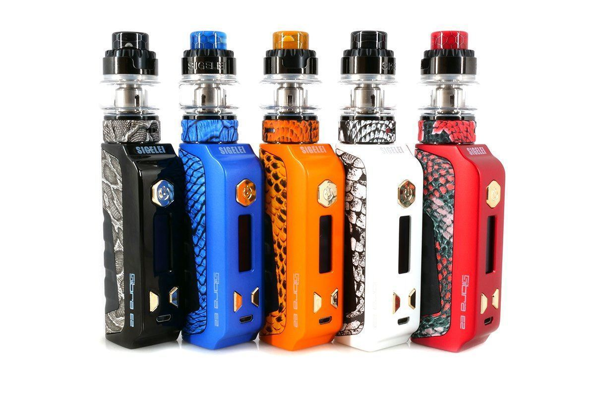 Sigelei Sibra E2 Kit 80W Sibra E2 Mod With Sobra Mini Tank