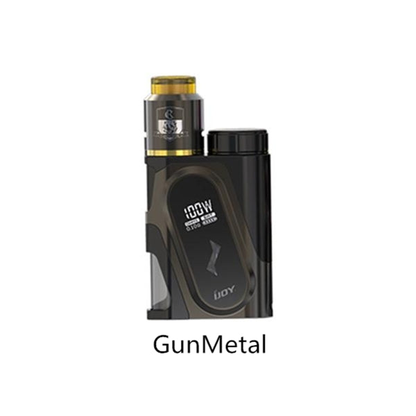 IJOY CAPO Squonk 100W Kit with COMBO RDA Triangle - 9ml/ 3000mAh