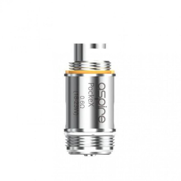 Aspire PockeX Coil Head 0.6ohm - 5pcs/pack