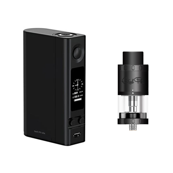 Joyetech eVic VTC Dual Battery Mod with Aspire Quad-Flex Survival Kit