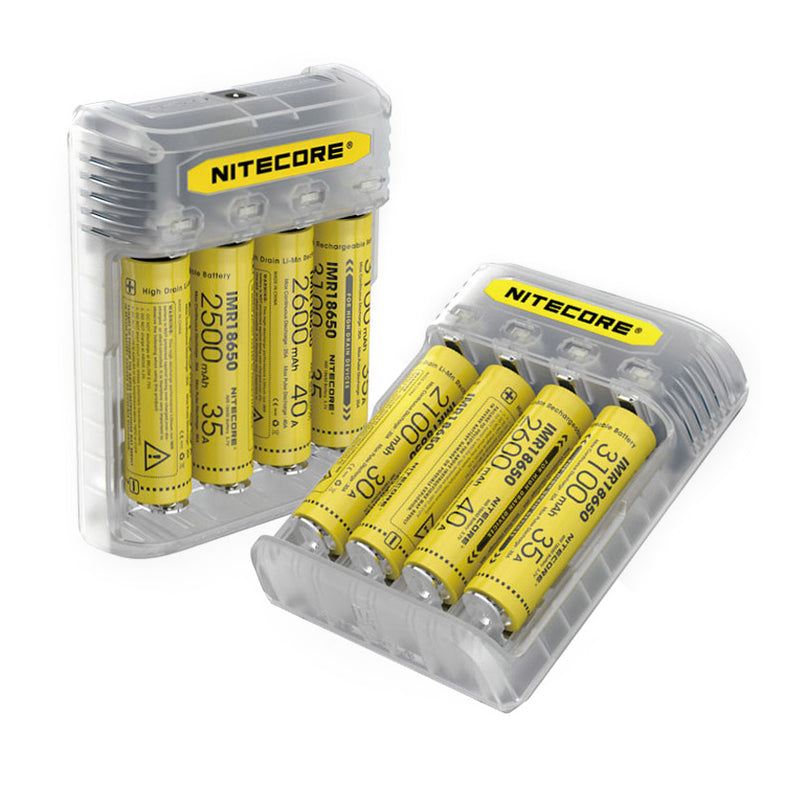 Nitecore Q4 4-slot Battery Charger