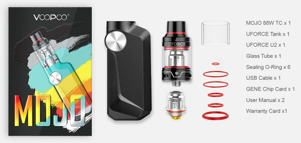 VOOPOO MOJO 88W Starter Kit with UFORCE Tank - 2600mAh & 3.5ml