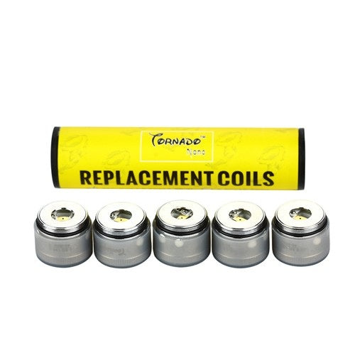 IJOY Tornado Nano Replacement Chip Coil 0.6ohm/0.3ohm - 5pcs/pack