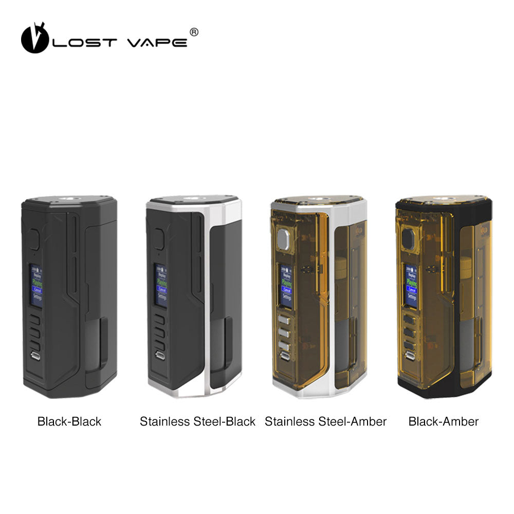 Lost Vape Drone BF DNA250C Dual 18650 Batteries Squonk Mod