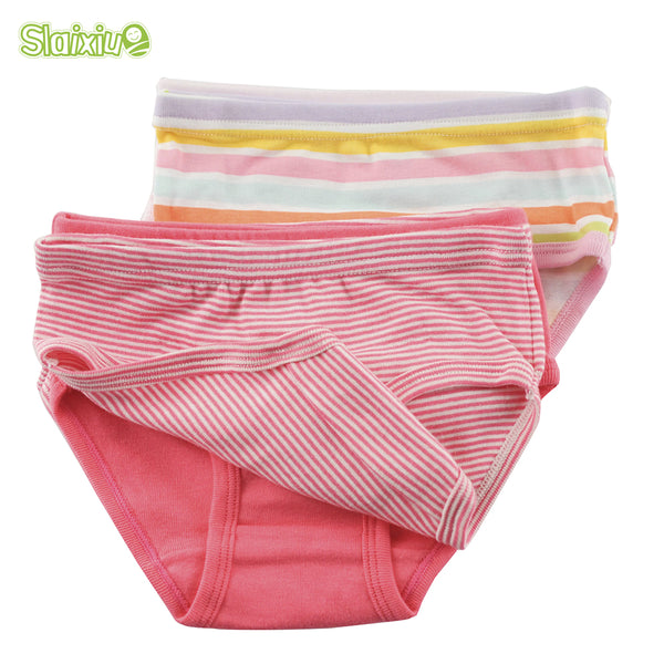 6 Pcs/Lot Cotton Briefs For Boys & Girls 2-8Y