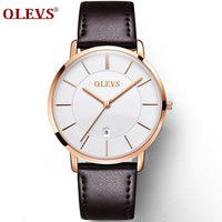 OLEVS Men Ultra thin Watches
