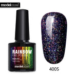 Modelones 10ML Shimmer Neon UV Nail Varnish
