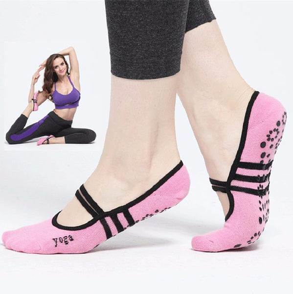 Pilates Yoga Anti Slip Socks