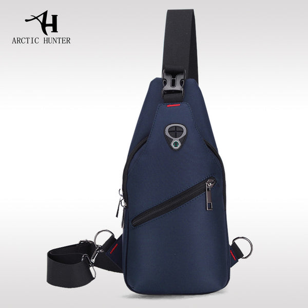 Korean Young Male Style Leisure Chest Bag