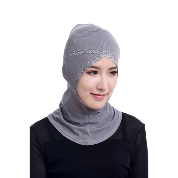 Chic Neck Cover Hijab 12 Colors