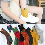 30cm Unisex Youth Cotton Socks