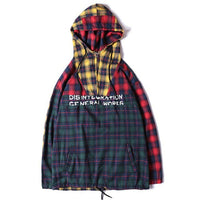 Plaid Coverall Hoodies