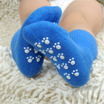 Anti Slip Candy Color Cotton Children Socks For 1-3 Year