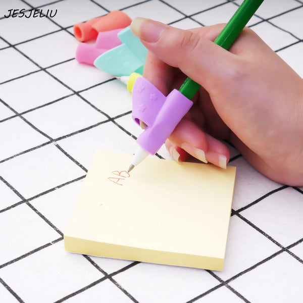 3PCS/Set Children Silicone Pencil Holder