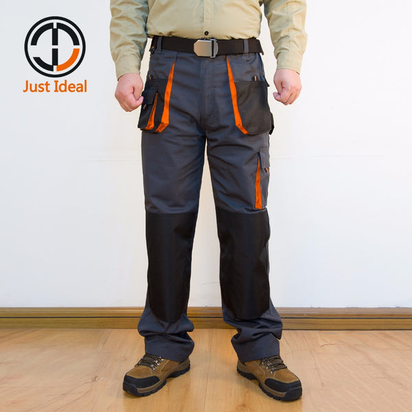 Multi Pocket Oxford Waterproof Work Trousers