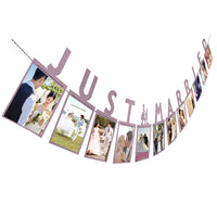 Photo Banner/Photo Wall Wedding Party