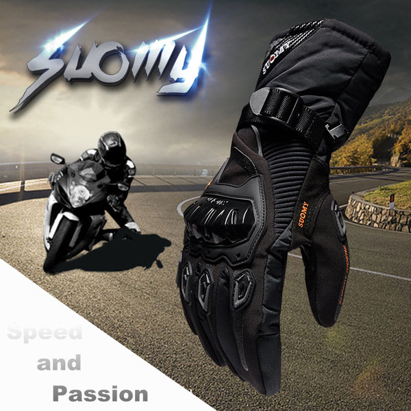 Windproof/Waterproof Warm Motorcycle Gloves