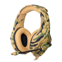 ONIKUMA K1 Camouflage Deep Bass/Gaming Noise Cancelling Headphones