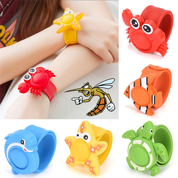 Silicone Cartoon Mosquito Repellent Wristband