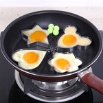 Stainless Steel Egg Shape-Molding Pan