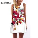 Beautiful Chiffon 2018 Sleeveless Summer Short Dress